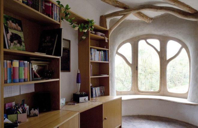 Рабочий кабинет с панорамным окном