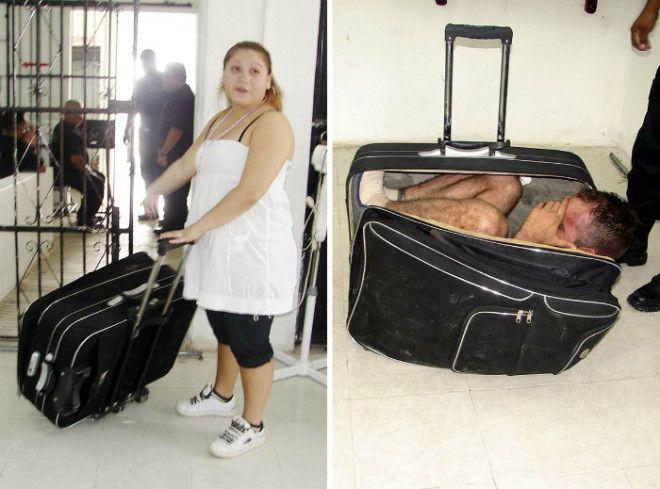 Человек в чемодане
