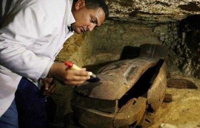 Древний Египет кладбище жрецов Тота