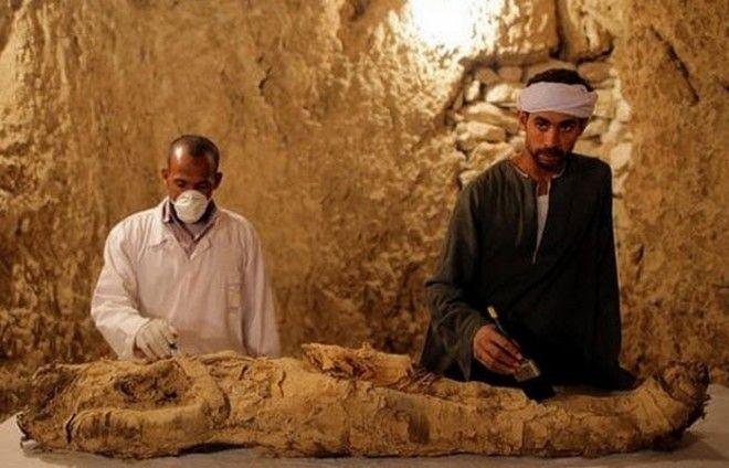 Древний Египет частные гробницы Луксора