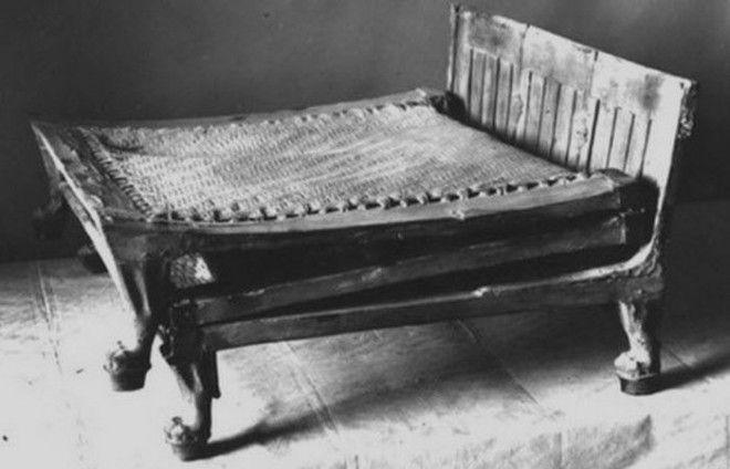Древний Египет кровать Тутанхамона