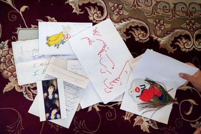 Ящик с любовными письмами от девушки Али