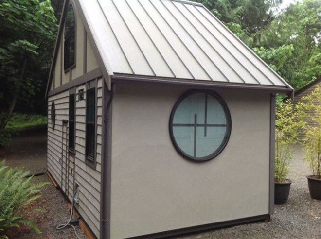 Крохотный дом идеальное решение для дачи
