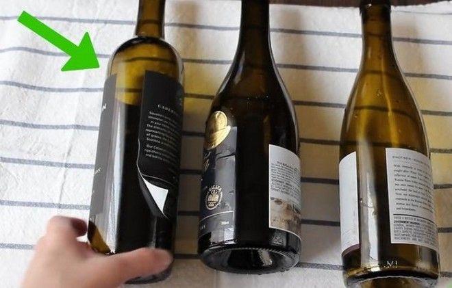 Подготовьте пустую и чистую бутылку вина