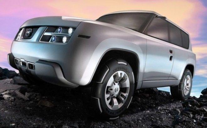 И куда делить красивые диски Nissan Terranaut в серийной модели