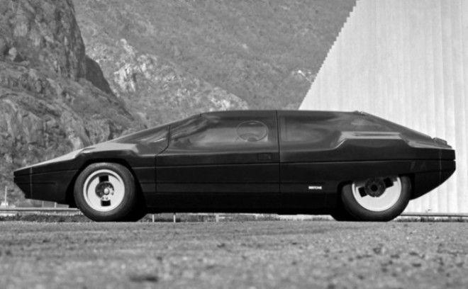 Смелый Lancia Sibilo Concept так и остался концептом