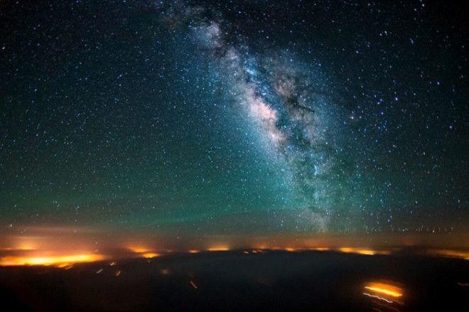 Красивый снимок звездного неба над Синайским полуостровом