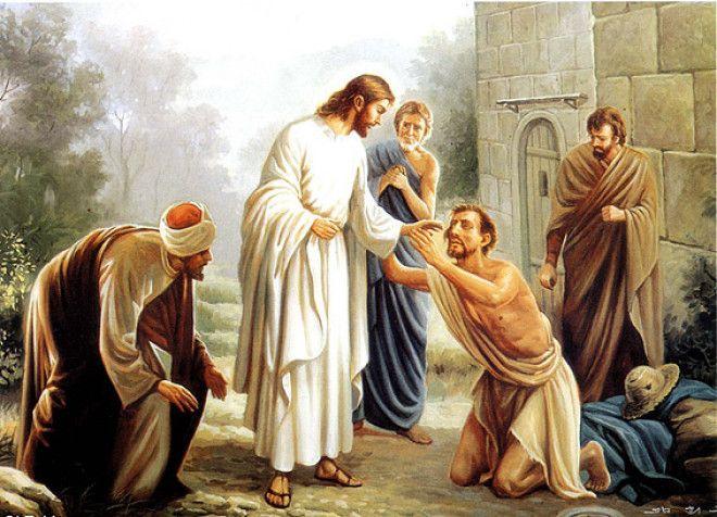 Картинки по запросу иисус душевнобольной
