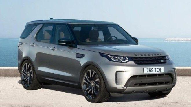 Британский кроссовер Land Rover Discovery четвертого поколения Фото cheatsheetcom