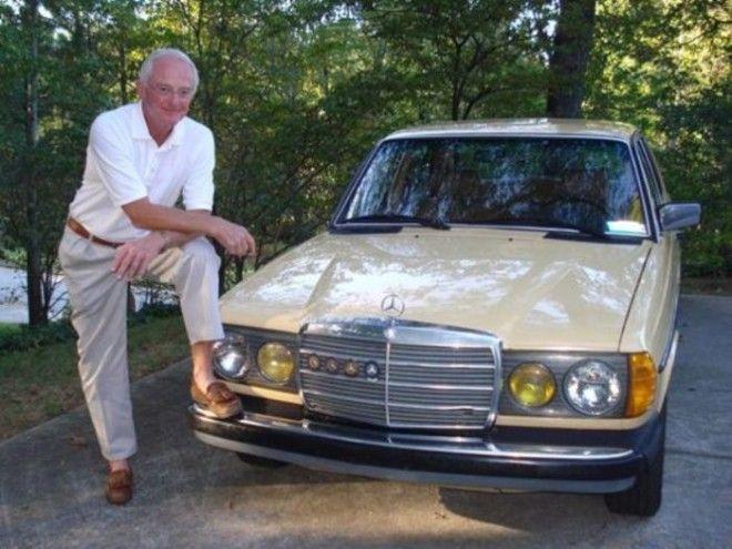 Пол Харман и его автомобильмиллионщик MercedesBenz 240D
