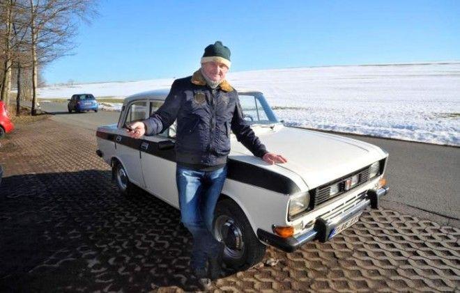 Москвич который попал в ГДР и ездит до сих пор