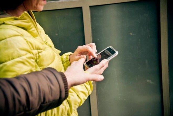 Телефон в руках лёгкая добыча для воришек
