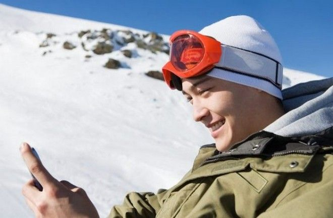Холод садит телефон