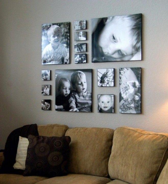 Его можно создать из семейных фотографий или понравившихся вам красивых картинок