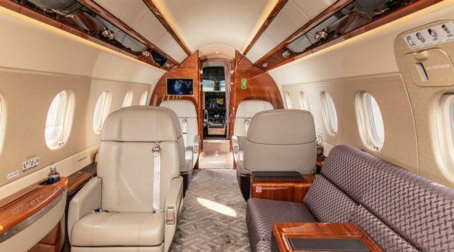 BКак устроены самые роскошные частные самолеты мира