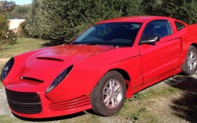 К сожалению этот Ford Mustang не фотошоп