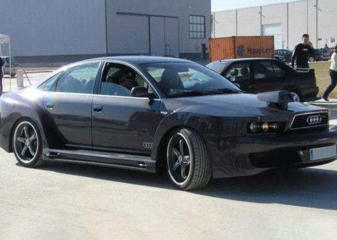 Пугающий Audi A6