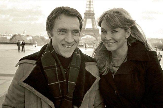 Владимир Высоцкий и Марина Влади в Париже