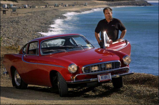 Volvo P1800 с пробегом 48 миллиона километров