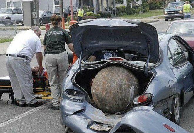 Находка в багажнике