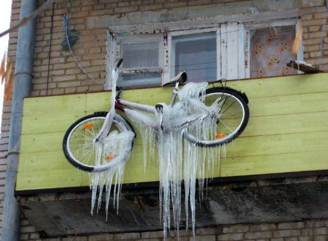 Замороженный велосипед
