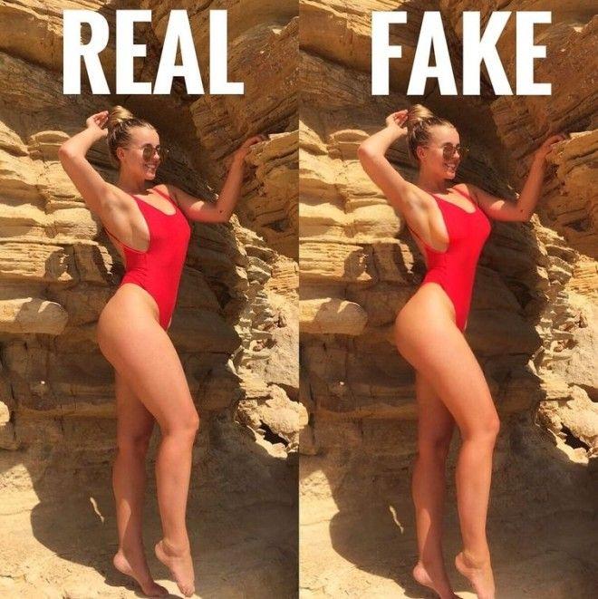 девушка отфотошопила своё фото комментарии троллей отфотошопила комментарии троллей