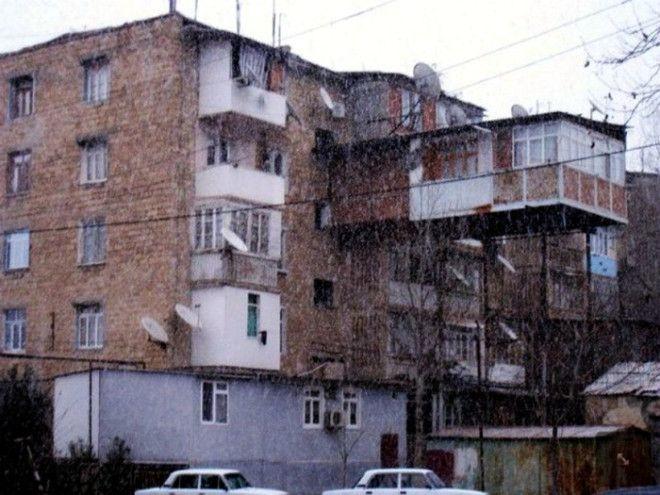 Немного улучшили жилищные условия