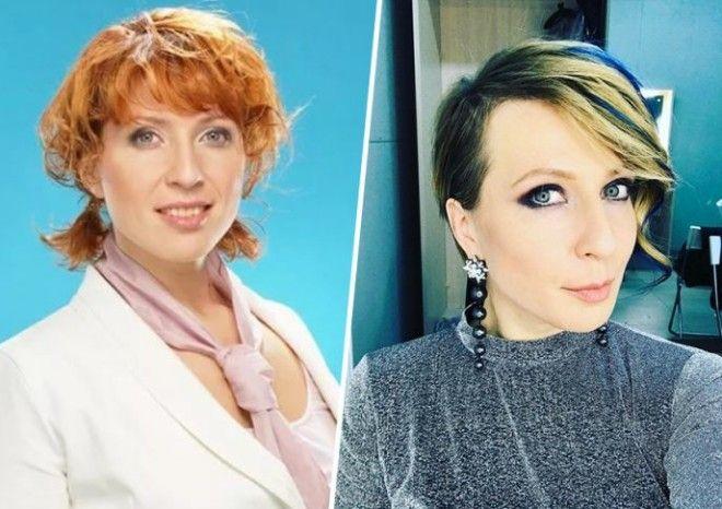 SНевероятные преображения Фото известных телеведущих до и после похудения