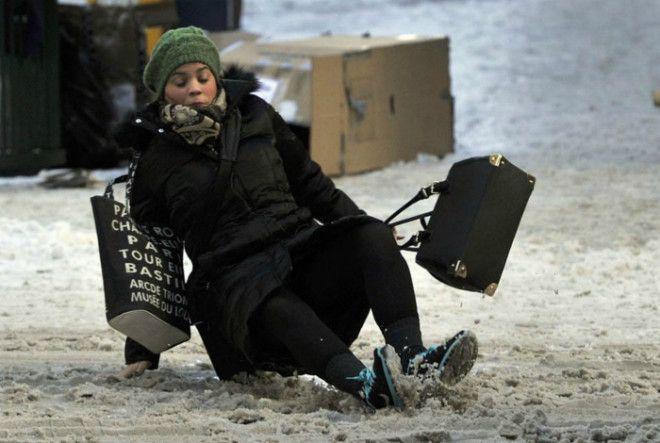 Экстремальная посадка на лед