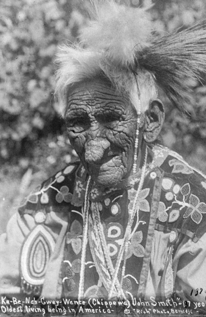 Джон Смит индеец который прожил 138 лет