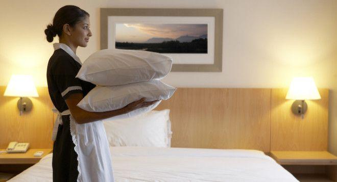 У всех есть свои секреты Особенно у работников отелей