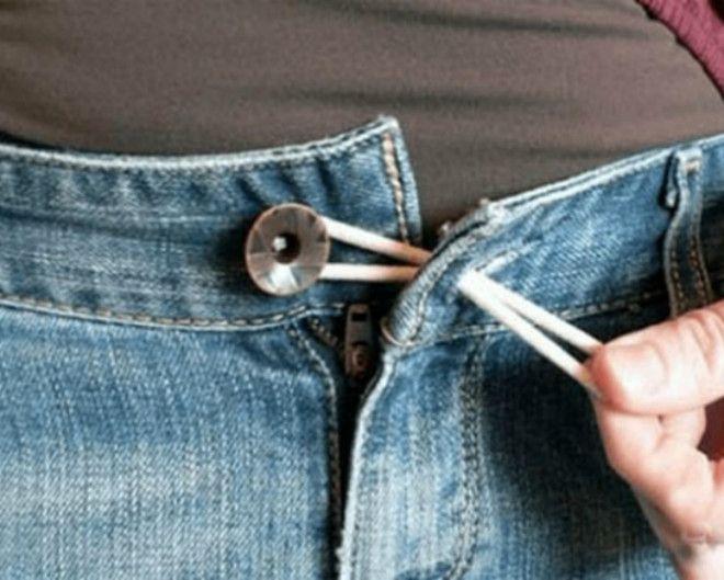 Резинка для увеличения джинсов