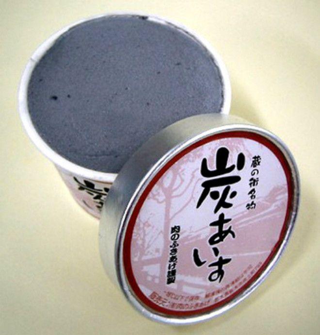 Мороженое с необычными добавками