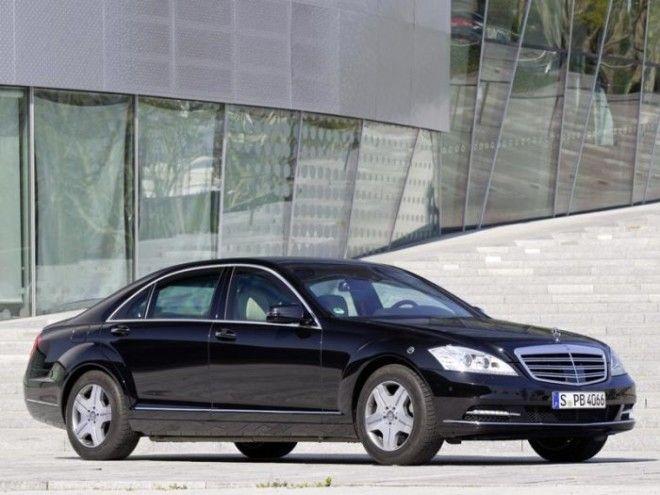 MercedesBenz SGuard броневик одного из популярнейших брендов