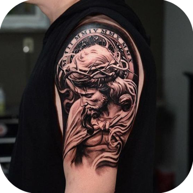 god tattoo