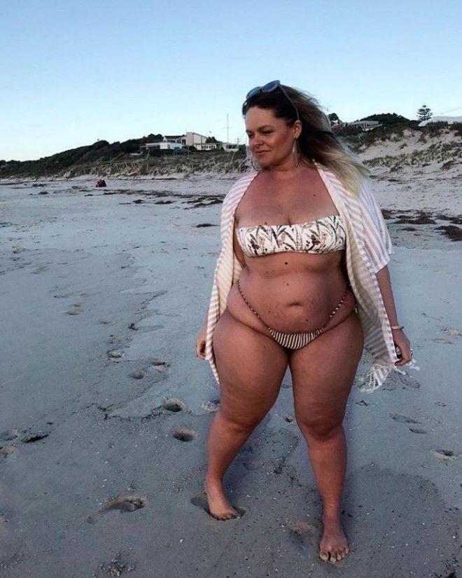 SПолные тоже сексуальны 15 женщин с формами в откровенных купальниках