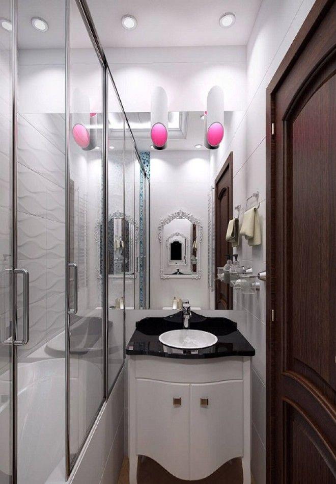 Оттенки в интерьере ванной комнаты которые визуально расширяют пространство