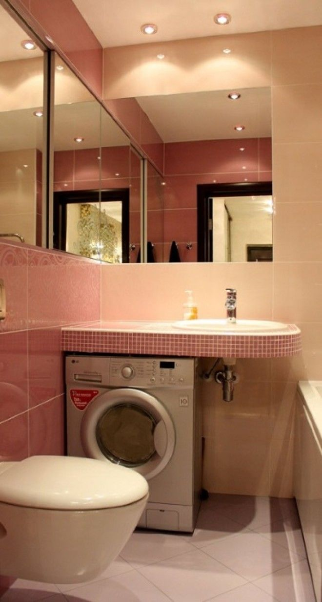 Полноценная ванная комната вот чего действительно не хватает в маленькой хрущёвке