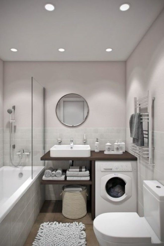 Любая ванная комната небольших размеров нуждается в определенном стилистическом решении