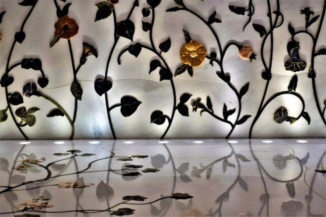 Мраморное украшение стен и пола Фото wwwrutravellerru