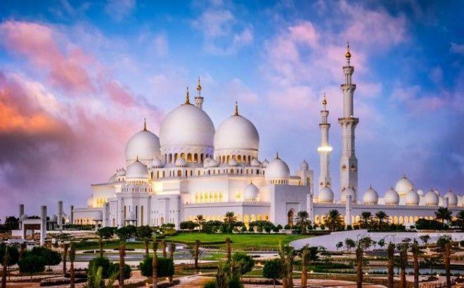 Мечеть шейха Зайда Фото wwwurlaubsgurude