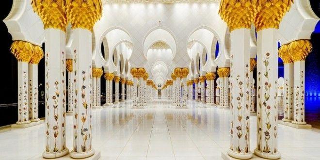 Удивительные колонны с позолотой Фото wwwgrandgamesnet
