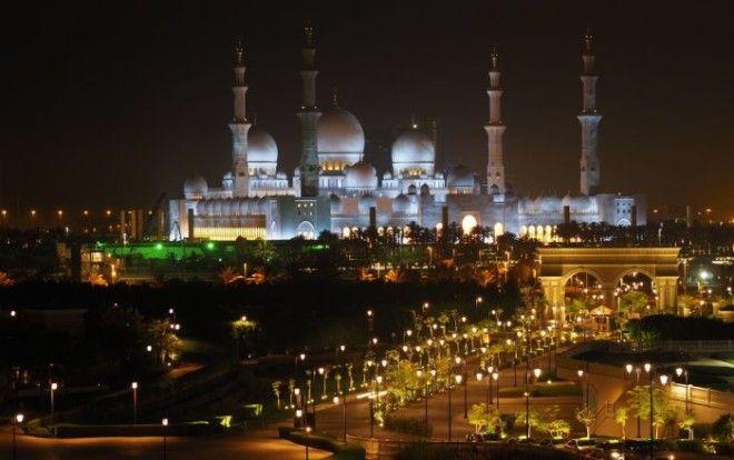 Мечеть шейха Зайда Фото wwwyandexru