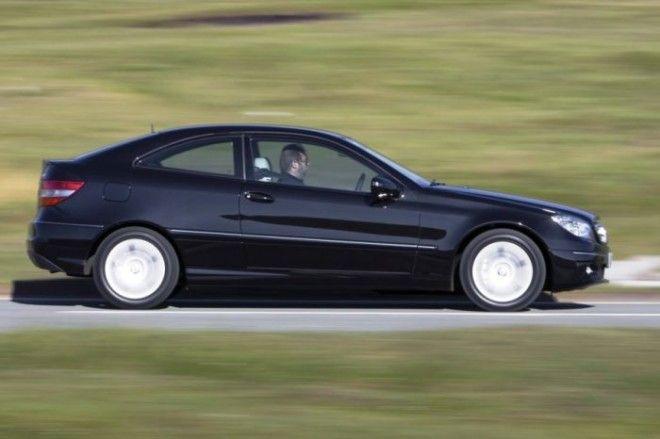 Купе CLC построенное на базе компактного седана MercedesBenz Cкласса Фото readcarsco