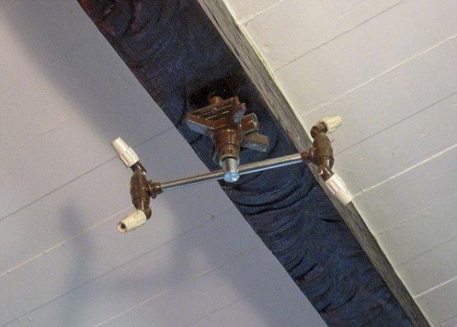 Вращающиеся разбрызгиватели вмонтированные в потолок