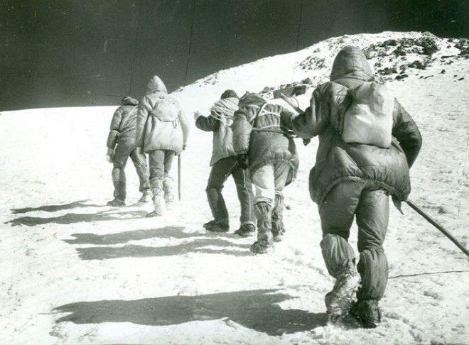 В горах очень важно слушаться инструктора