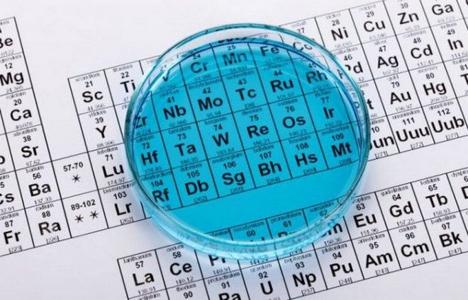 Откровение Морфея: периодическая таблица химических элементов.