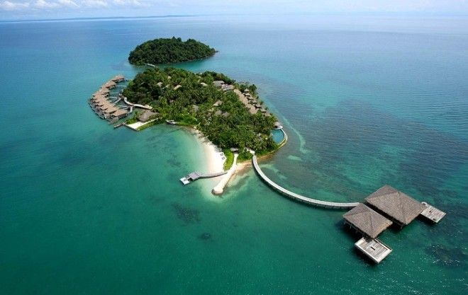 Очаровательный остров с роскошными виллами