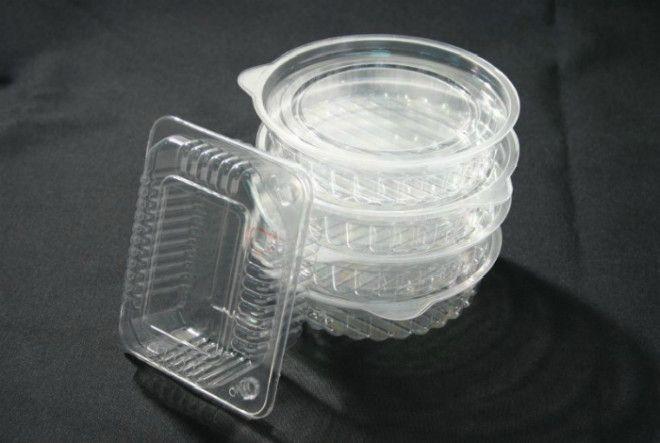 Хранить одноразовые контейнеры для еды