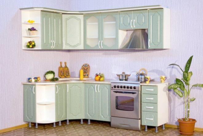 Кухонные шкафчики без цоколей
